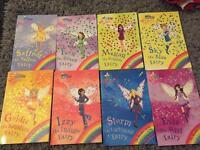 8 x Rainbow Magic Fairy books