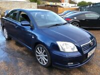 Toyota Avensis T4 1998cc Petrol 5 speed manual 5 door hatchback 53 Plate 23/12/2003 Blue