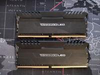 Corsair Vengeance LED 3200MHz DDR4 Memory 2x8Gb