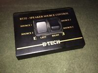 B-tech BT32 speaker source control