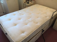 GREAT BRITISH MOBILITY ELECTRIC ADJUSTABLE DOUBLE BED & MATTRESS £800 O.N.O.