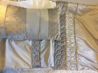 Silver/grey single duvet cover, pillow case and more (set)