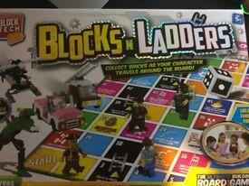 Blocks N Ladders Board Game