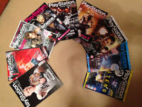 RARE PlayStation Official Magazine UK Collection - 9 Issues (2007-11)