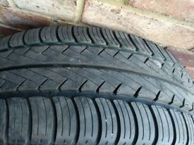 Goodyear Tyre 205/55/16 with 8mm tread