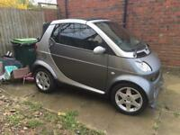 2003 Smart Car 599cc Breaking for Spare Parts
