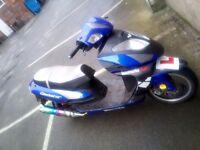 125cc lexmoto gladiator 2012 plate