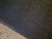 grey natural hessian/jute rustic table cloth runner to fit 6ft table,11 available