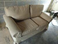 Ikea Sofa 2 seater Beige