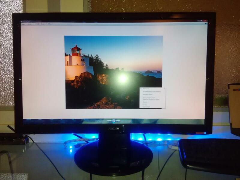 widescreen lcd monitor asus vh222 21 5 in nordrhein. Black Bedroom Furniture Sets. Home Design Ideas
