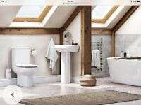 New Wharf Orchard toilet and sink set
