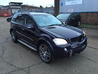 2007 MERCEDES ML63 V8 AMG 4-MATIC AUTO SALVAGE DAMAGED REPAIRABLE NT C63 E63 M5 CLS63 E55 X5M RANGE