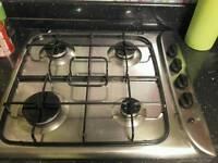 Indesit gas four burner hob