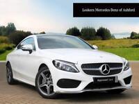 Mercedes-Benz C Class C 220 D AMG LINE PREMIUM (white) 2016-01-29