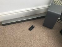 LG SH5 Soundbar with Sub Woofer £100