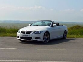 BMW 330d convertible, M-Sport edition, in stunning condition