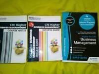 Higher business management books