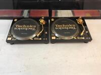 TECHNICS 1200 GLD LIMITED EDITION GOLD 1210