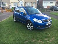 Suzuki SX4 12 months mot tax hpi clear low millig