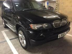 2003 bmw x5 sport 1 off low mileage black on black rare nappa leather last day of sale today batgain
