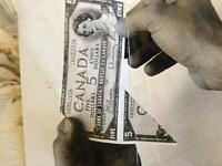 Pièce unique monnaie canadiene