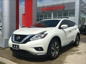 2017 Nissan Murano Platinum, Apple Car Play, navigation