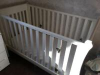 Little white company Nantucket cot bed