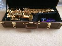 Alto Saxophone inc Case - Excellent Condition - as new