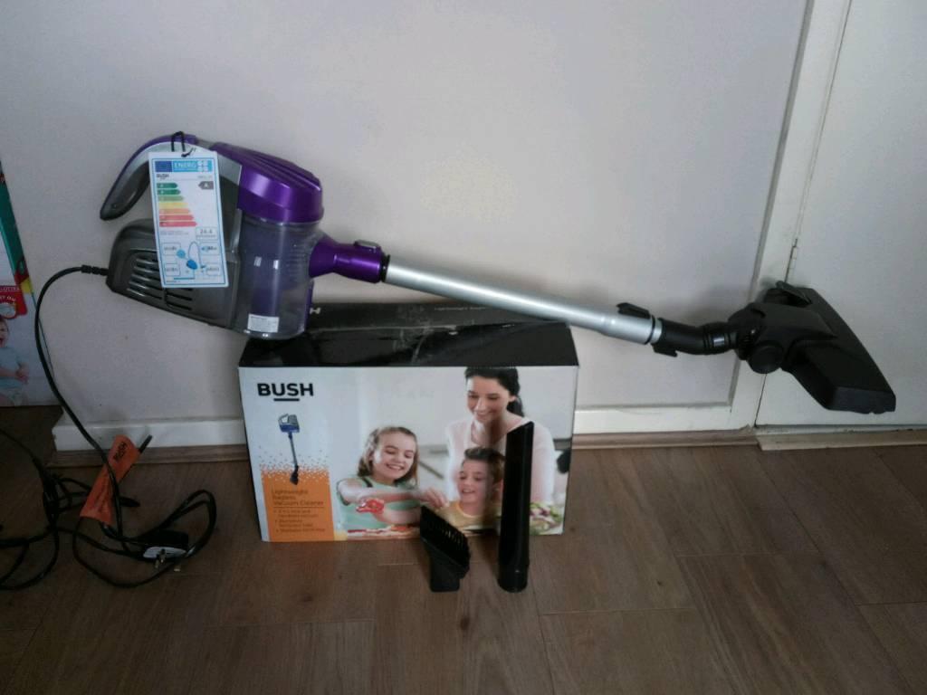 as new bush handheld vacuum cleaner a rated in bransholme east yorkshire gumtree. Black Bedroom Furniture Sets. Home Design Ideas