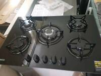 Zanussi 5 burner ceramic gas hob *new*