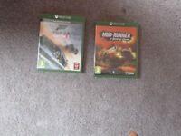 Forza Horizon3 and Mud Runner XBox One Games
