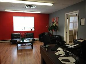 BRIGHT OFFICE SPACE FOR LEASE OVERLOOKING BEDFORD BASIN