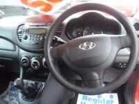 Hyundai I10 Classic,5 dr hatchback,full MOT,1 previous owner,2 keys,£20 yr road tax,low mileage 43k