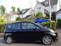 (2007) HONDA JAZZ SPORT 1.3 i-DSi BLACK 1 PRIVATE OWNER/ONLY 65K MILES/FULL SERVICE HISTORY/TOP SPEC