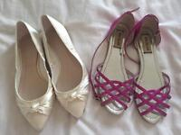 2 pairs of Shoes - £5 for both. Size 5.
