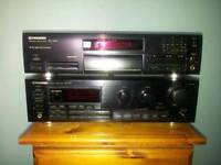 PIONEER SX-339 AMPLIFIER RECEIVER AND PD-S505 CD