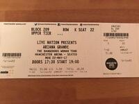 1x Ariana Grande ticket Manchester Arena