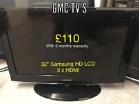 Various Tv's for sale