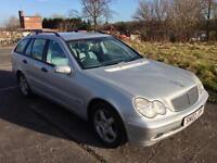 2002 Mercedes c270 cdi estate