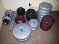 Dumbbells set exercise weights