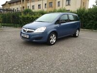 7 SEATER VAUXHALL ZAFIRA COMES WITH SERVICE HISTORY, Long MOT, 2 KEYS! LOOKS AND DRIVES SPOT ON!