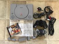 Original PlayStation Console & game