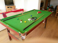 Snooker Table 6 foot by 3 foot