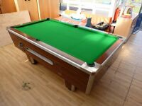 pool table - size is standard pub size - coin function disabled - £200