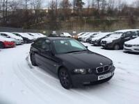 BMW 320TD COMPACT 12 MONTHS M.O.T SWAP WHY