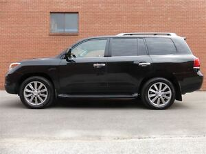 2010 Lexus LX 570 ULTRA PREMIUM - BLACK ON BLACK