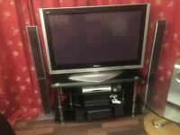 Panasonic tv with speakers