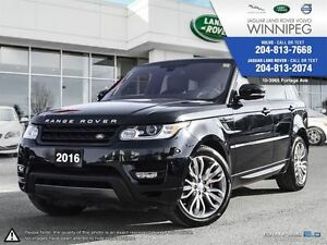2016 Land Rover Range Rover Sport V8 SC Dynamic W/WINTER TIRE PA