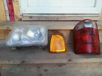 2002 Ford Ranger Headlights , markers and taillights