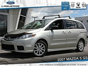 2007 Mazda MAZDA5 **GS*7 PASSAGERS*CRUISE*A/C**